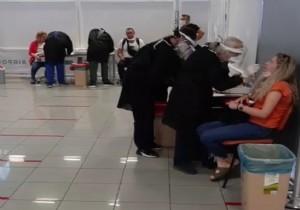 KKTC de Ercan a İki Uçakla 398 Yolcu Geldi