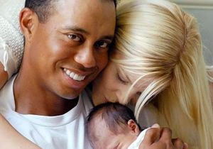 Tiger Woods ile e�i bo�and�